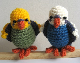 Amigurumi Crochet Budgie Pattern
