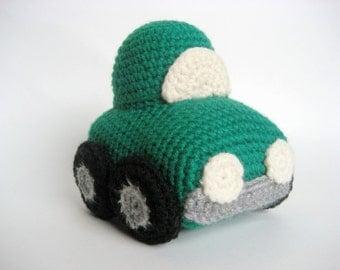 Crochet Car Toy Pattern