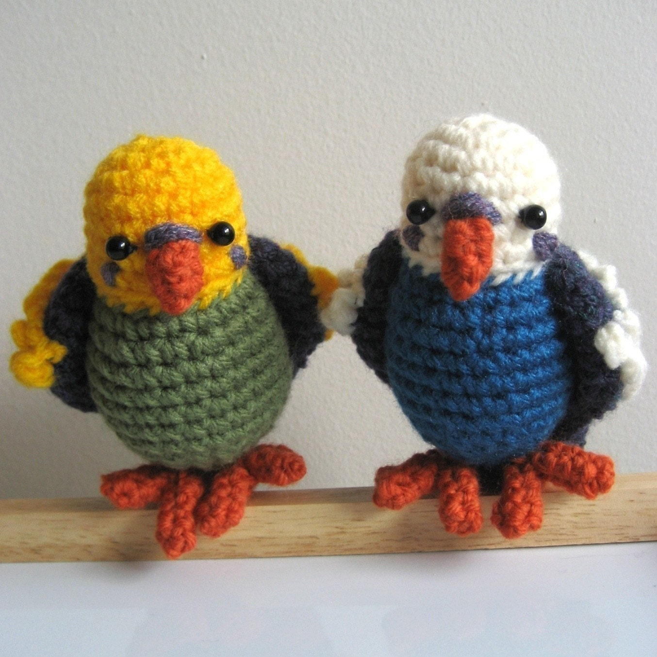 Amigurumi Askina Etsy : Amigurumi Crochet Budgie Pattern by MsPremiseConclusion on ...