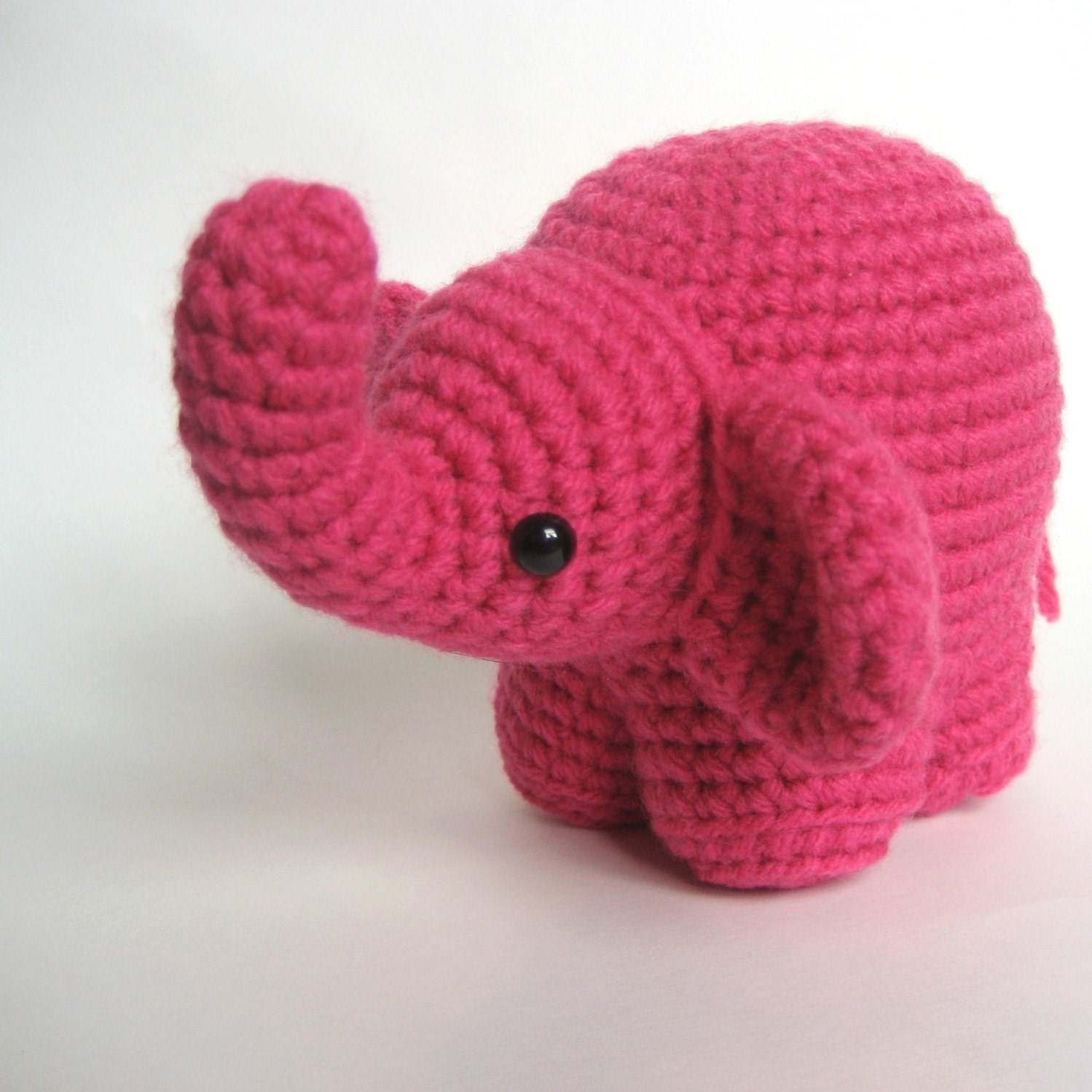Crochet Patterns Elephant : Amigurumi Crochet Elephant Pattern