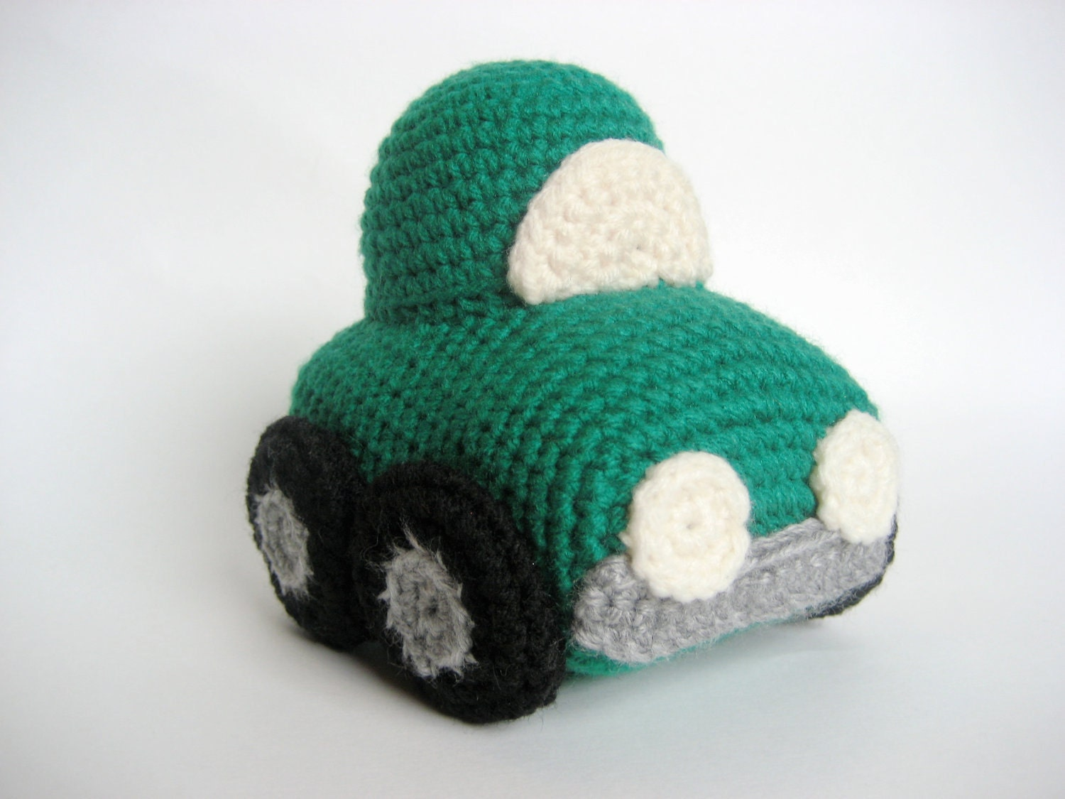 Crochet Car Toy Pattern by MsPremiseConclusion on Etsy