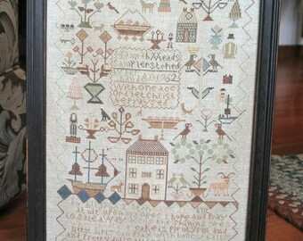 With One Accord : Cross Stitch Pattern by Heartstring Samplery