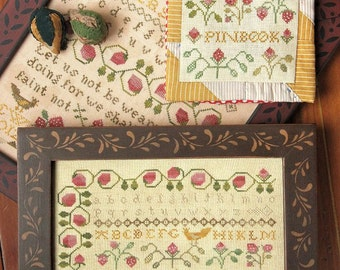 The Strawberry Collection : Cross Stitch Pattern by Heartstring Samplery