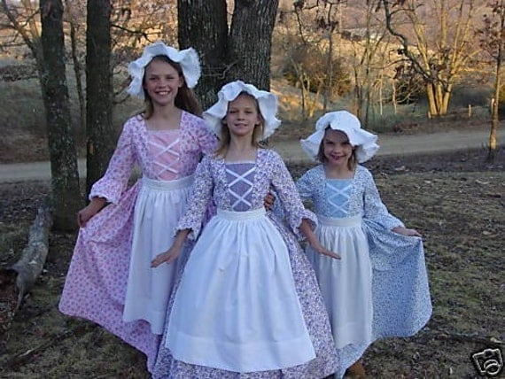 WeHaveCostumes Handmade American Historical Colonial Pioneer