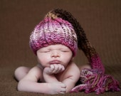 Sweet Pea Hats,  Newborn Baby Munchkins Hat - Baby Oz Hat - Stocking Cap - Pick you Color