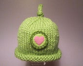 Knitted Baby Hat - Little Valentine Knit Hat for Your Little Valentine