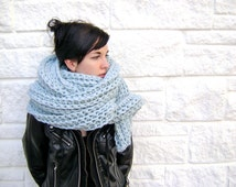 Crochet Scarf PATTERN for Mile Long Scarf Cowl - High End Look - Hand Made Goodness