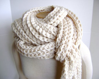 Crochet Scarf PATTERN for Mile Long Scarf Cowl - High End Look - Hand Made Goodness Instant Download