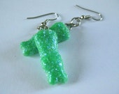 Sour Patch Kids Earrings (green)