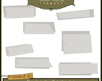 Paper Scraps Commercial Use Layered Templates - Instant Download