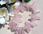 Rose Quartz Crystal Gemstone Elasticated Bracelet, Special Offer Price