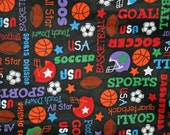 ALL SPORTS Flannel Pillowcase