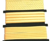 8 yards of Simply Sassy YELLOW Ribbons from Mrs. Grossmans