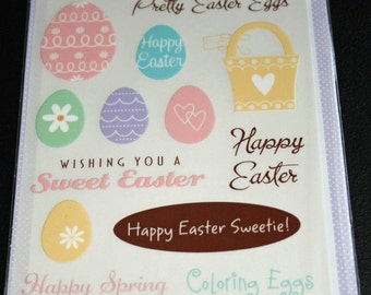 Easter Rub ons from Hot Fudge Studio
