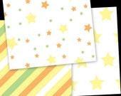 Infant Neutral Flannel Fabric Bundle David Textiles