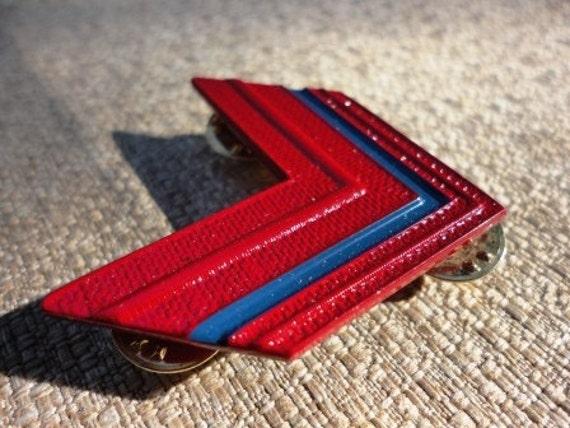 vintage BOMISA MILANO military brooch