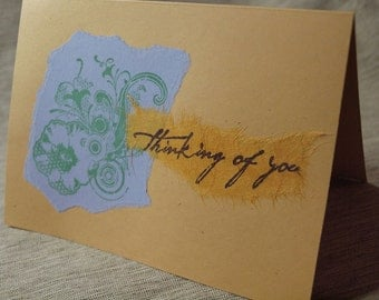 Set of 3 thinking of you cards