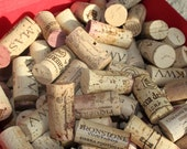 500 used natural wine corks for craft or decor - no synthetics
