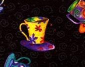 Happy Coffee Cups -  Reversible Bun Warmer