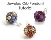 PATTERN Jeweled Orb Pendant - PDF File