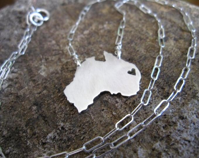 Australia Love Necklace