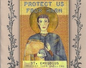 St. Emygdius  Patron Saint of Earthquakes