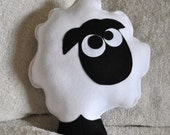Count the Sheep Plush Pillow -Ready to Ship-