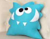 Nom Nom Monster Plush Pillow -NEW BEDBUGGS DESIGN- Monster Pillow- Anime Cartoon -
