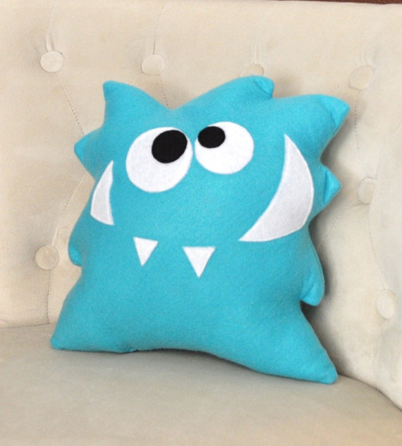 Nom Nom Monster Plush Pillow New Bedbuggs Design Monster