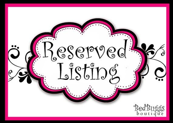 Reserved Listing 18x18