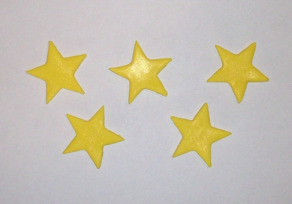 Wish Upon A Star - Cake/Cupcake Toppers - Two Dozen