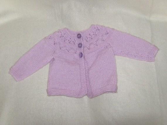 a light purple babys jacket