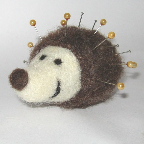 hedgehog pin cushion