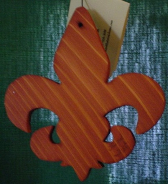 This and That WIND CHIMES Fleur de lis  Sail, New Orleans Saints 39 inch Tuned to C, D, E, G, A & C