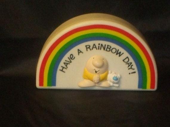 Vintage American Greetings ZIGGY and FUZZ Rainbow Box