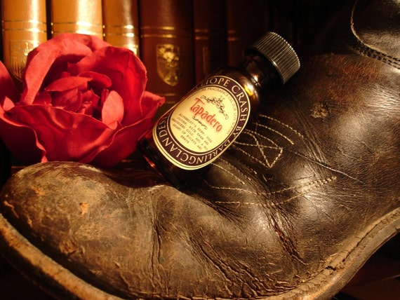 Tapadero Handcrafted Fragrance Oil - 1/2 ounce amber bottle