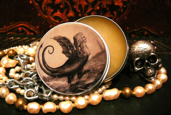 Harpy handcrafted solid perfume