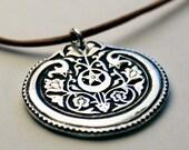 Fine Silver Celestial Garden Necklace - Made to Order