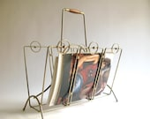 SALE Vintage Magazine Rack