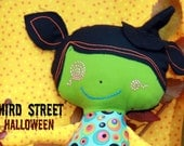 Halloween Witch Doll - LIMITED EDITION - Third Street Original Cloth Doll