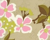 Joel Dewberry - Modern Meadow - Dogwood Bloom in Pink - 1 yard