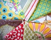 Designer Fabric Scrap Bag - 1 yard by weight