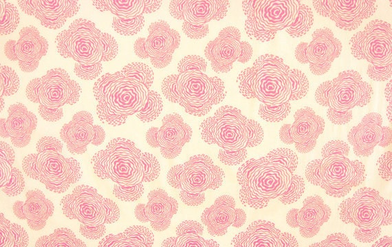 Amy Butler - MIDWEST MODERN - Floating Buds in Ivory - Fat Quarter FQ