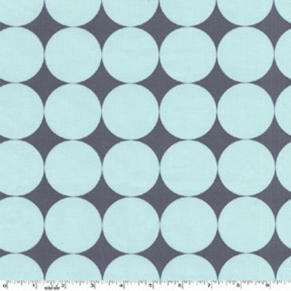 Michael Miller fabric -  It's a Boy Thing - Disco Dot in Sea - Fat Quarter FQ