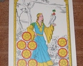 3-Card Tarot Reading, One Question or Situation Explored