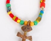 Wearer Beware- Fertility Necklace with Trade Beads