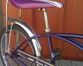 Grape Krate by Schwinn Stingray Sting Ray Purple Banana Seat Bike Bicycle-----FREE SHIPPING-----