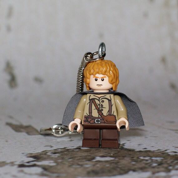 Samwise Gamgee LEGO key chain