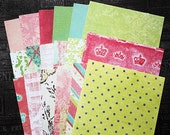 "SALE: 4""x6"" Prima Papers by Iron Orchid Designs, double-sided for Scrapbooking, Card Making and Paper Crafts"