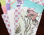 """SALE: Prima 4""""x6"""" Papers by Iron Orchid Designs for Scrapbooking, Card Making, Paper Crafts"""
